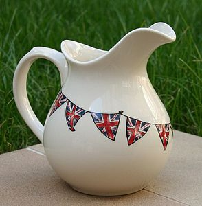 Union Jack Bunting Jug - kitchen