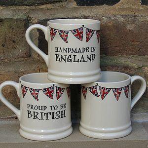 British Mug - mugs