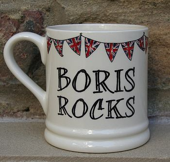 'Boris Rocks' Mug