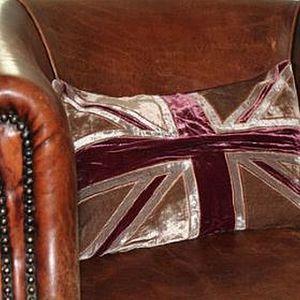 Union Jack Velvet Cushion