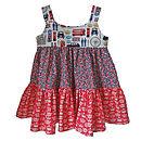Girl's Handmade London Design Dress