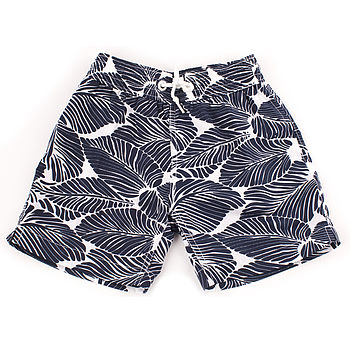 Boy's Leaf Swim Shorts