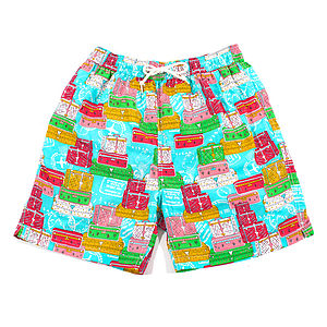 Men's Luggage Trunks Swim Shorts - swimwear