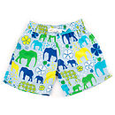 Boy's Elephant March Swim Shorts