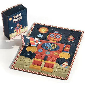 Robot Pocket Puzzle - shop by price