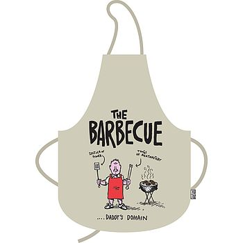 'Daddy's Domain'BBQ Apron