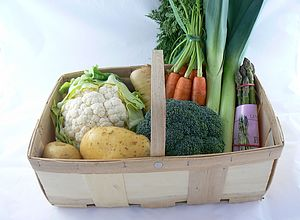 Small Vegetable Basket - hampers