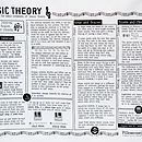 Music Theory Printed Study Pillowcase
