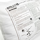 Biology Printed Study Pillowcase