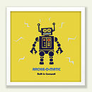 Personalised Robot Print