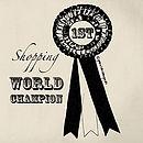 Shopping World Champion Tote Bag