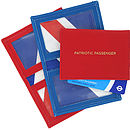 'Patriotic Passenger' Travel Card Holder