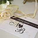 Fairytale Castle -Place Card