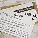 Fairytale Castle - RSVP Card