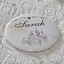 Fairytale Personalised Pocket Mirror Favour