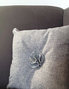 Cushion With Petal Centre - cushions