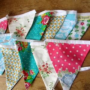 Vintage Floral Bunting - shop by price