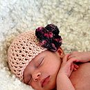 Natural Cotton Baby Hat
