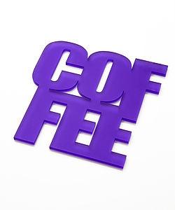 Set Of Four Coffee Coasters