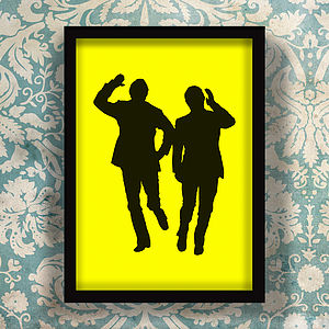 Morecambe And Wise Sunshine Screen Print - film & tv
