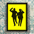 Morecambe And Wise Sunshine Screen Print