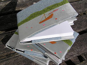 Seaside Notebook - card-making & stationery