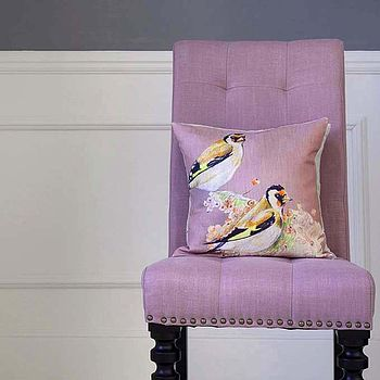 Finch Rose Cushion