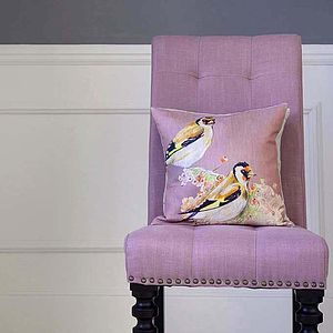 Finch Rose Cushion - cushions