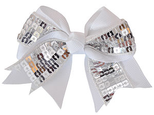 Sparkly Hair Bow - hair accessories
