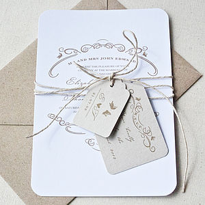 Enchantment Wedding Stationery Bundle
