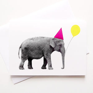 Funny Birthday Elephant Card