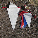 Recycled Sailcloth Great British Bunting