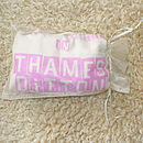 Gift wrapped in an organza bag