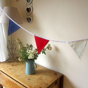 Boys Bunting Red Blue White - bunting & garlands