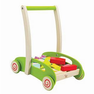 Block And Roll Baby Walker - educational toys