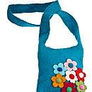 Handmade Felt Children's Secret Garden Bag