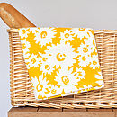 Daisy Design Tea Towel