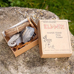 Tinderbox Firelighting Kit - outdoor living
