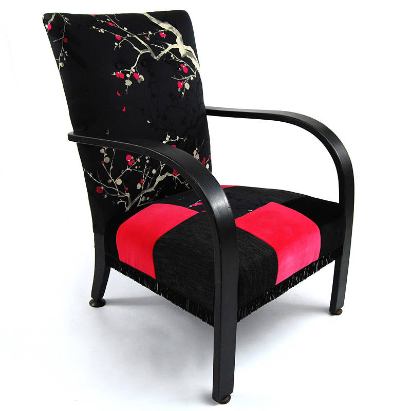 upcycled vintage armchair by tilt originals