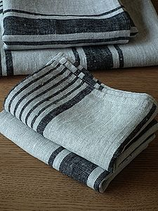 Provence French Linen Towels - bathroom