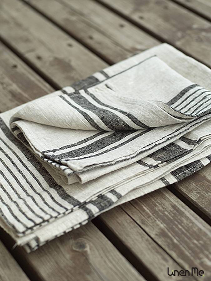 Provence French Linen Towels By Linenme Notonthehighstreet Com