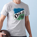 Personalised 'Dad' T Shirt