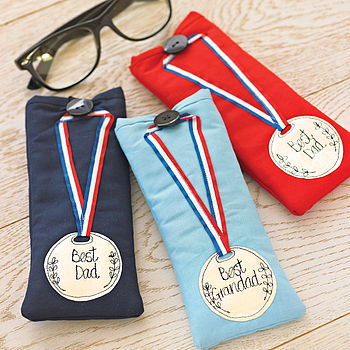 Personalised Medalist Glasses Case