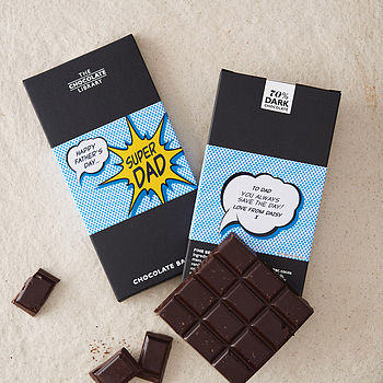 'Super Dad' Chocolate Bar