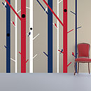 Abstract Trees Wall Sticker