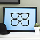 Two Ronnies Glasses Screen Print