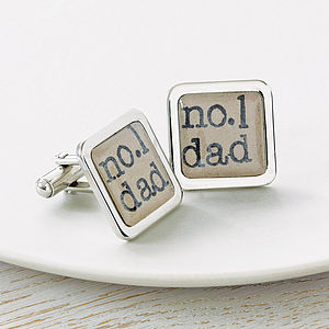 Dad Cufflinks - first father's day
