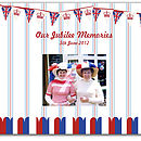 Personalised Union Jack Memory Book