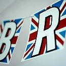 Personalised Union Jack Card Bunting