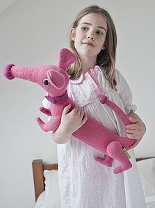 Personalised Toy Dachshund